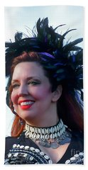 Portrait Of Traci Beach Sheet