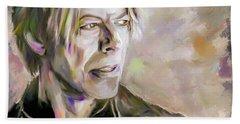 Portrait Of Bowie Beach Towel