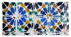 Portuguese Tiles Beach Sheet by Marion McCristall