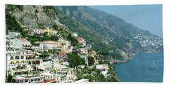 Positano In The Afternoon Beach Towel