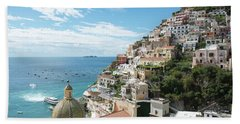 Positano Italy Beach Sheet