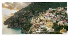 Positano Sunset Beach Towel