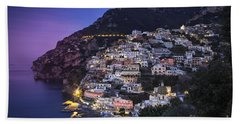 Positano Twilight Beach Towel