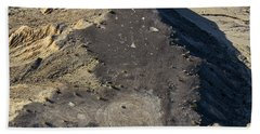 Beach Towel featuring the photograph Possible Archeological Site by Jim Thompson