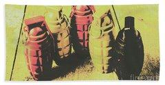 Beach Sheet featuring the photograph Posterized Granade Art by Jorgo Photography - Wall Art Gallery