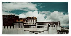 Potala Palace, Fragment. Lhasa, Tibet. Yantra.lv Beach Towel