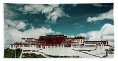 Potala Palace. Lhasa, Tibet. Artmif.lv Beach Towel