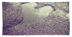 Pothole Love Beach Towel