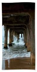 Pounded Pier Beach Towel