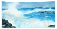 Pounding Surf Beach Towel