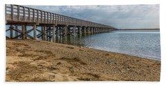 Powder Point Bridge Beach Towel