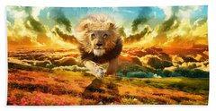 Power And Glory Beach Towel