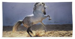 Power In Motion Beach Towel