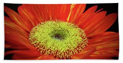 Prado Red Sunflower Beach Sheet