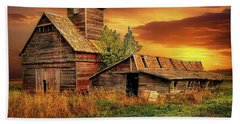 Prairie Barns Beach Towel
