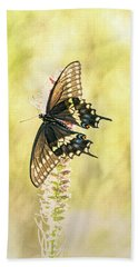 Prairie Butterfly 2 Beach Towel