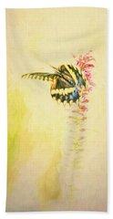 Prairie Butterfly 3 Beach Sheet