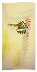Prairie Butterfly 3 Beach Towel
