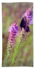 Prairie Butterfly Beach Towel