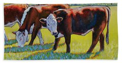 Prairie Lunch Beach Towel