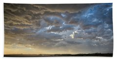 Prairie Skies Beach Towel by Keith Boone