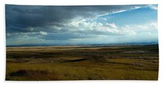 Prairie Storm Beach Towel
