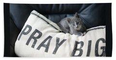 Pray Big Beach Towel