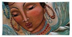 Pray For Tibet Beach Towel