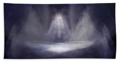 Prayer Bowl01 Beach Towel