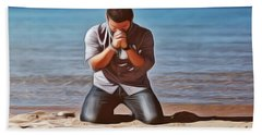 Prayer Beach Towel