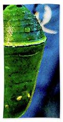 Pre-emergent Butterfly Spirit Beach Sheet by Gina O'Brien
