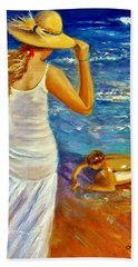 Precious Memories  Beach Towel