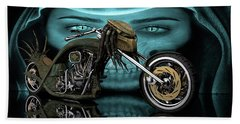 Predator Chopper Beach Towel
