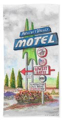 Prescott Valley Motel In Prescott, Arizona Beach Sheet
