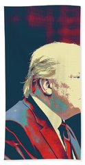 President Donald Trump Beach Towel