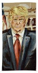 President Donald Trump Beach Sheet