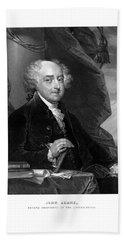 President John Adams - Three Beach Towel