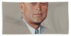 portrait of a President Beach Towel