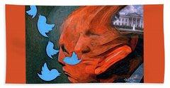 President Of Twitter Beach Sheet