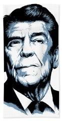 President Reagan Beach Towel