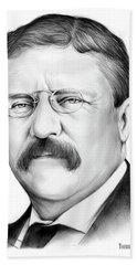 President Theodore Roosevelt 2 Beach Towel