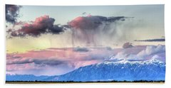 Beach Towel featuring the photograph Pretty In Pink by Bryan Carter