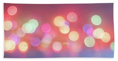 Pretty Pastels Abstract Beach Towel by Terry DeLuco