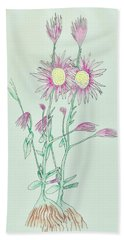 Pretty Weed Beach Towel