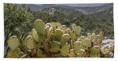Cactus Country Beach Towel