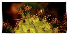 Prickly Pear Spring Beach Sheet