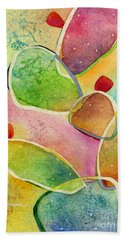 Prickly Pizazz 1 Beach Towel by Hailey E Herrera