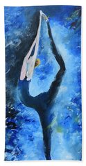 Prima Ballerina #1 Beach Towel