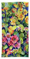 Primrose Patch I Beach Sheet