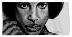 Prince Art - Pencil Drawing From Photography - Ai P. Nilson Beach Sheet